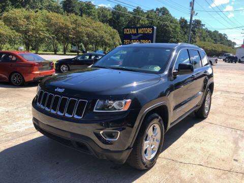2014 Jeep Grand Cherokee for sale at Oceana Motors in Virginia Beach VA