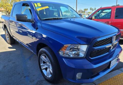 2015 RAM Ram Pickup 1500 for sale at ZOOM CARS LLC in Sylmar CA