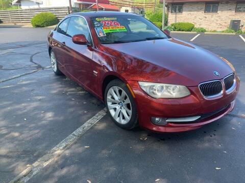 2011 BMW 3 Series for sale at Clarks Auto Sales in Connersville IN