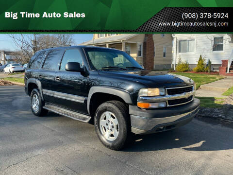 2004 Chevrolet Tahoe for sale at Big Time Auto Sales in Vauxhall NJ