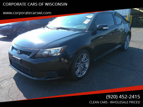 2012 Scion tC for sale at CORPORATE CARS OF WISCONSIN - DAVES AUTO SALES OF SHEBOYGAN in Sheboygan WI