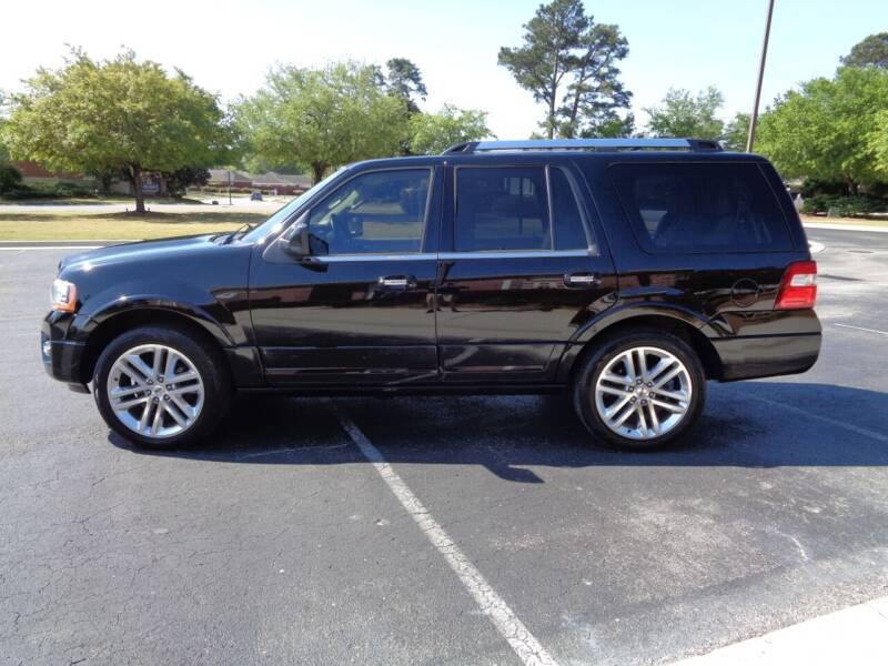 2016 Ford Expedition for sale at BALKCUM AUTO INC in Wilmington NC