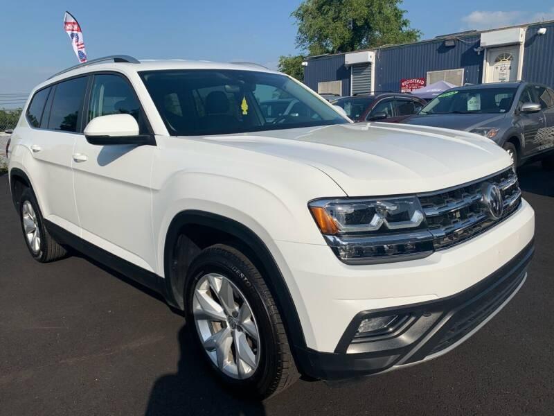 2018 Volkswagen Atlas for sale at TD MOTOR LEASING LLC in Staten Island NY