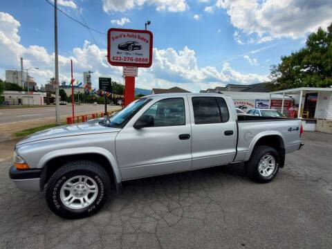 2003 Dodge Dakota for sale at Ford's Auto Sales in Kingsport TN