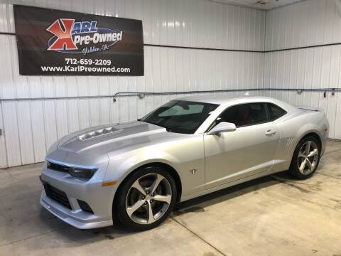 2015 Chevrolet Camaro for sale at Karl Pre-Owned in Glidden IA