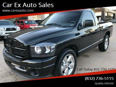 2008 Dodge Ram Pickup 1500 for sale at Car Ex Auto Sales in Houston TX