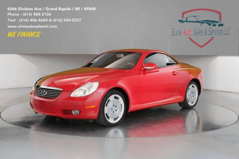 2002 Lexus SC 430 for sale at Elvis Auto Sales LLC in Grand Rapids MI