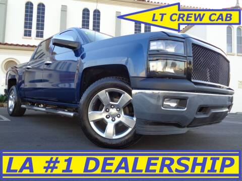 2014 Chevrolet Silverado 1500 for sale at ALL STAR TRUCKS INC in Los Angeles CA