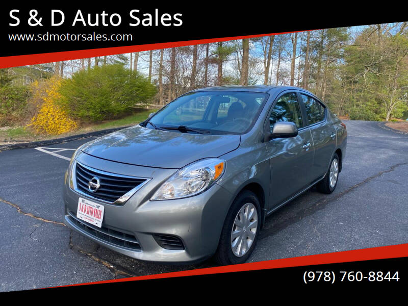 2013 Nissan Versa for sale at S & D Auto Sales in Maynard MA