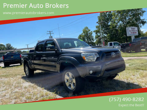 2013 Toyota Tacoma for sale at Premier Auto Brokers in Virginia Beach VA