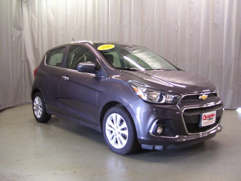2016 Chevrolet Spark for sale at QUADEN MOTORS INC in Nashotah WI
