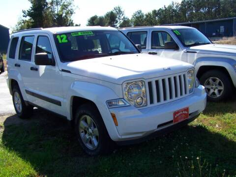 2012 Jeep Liberty for sale at Lloyds Auto Sales & SVC in Sanford ME