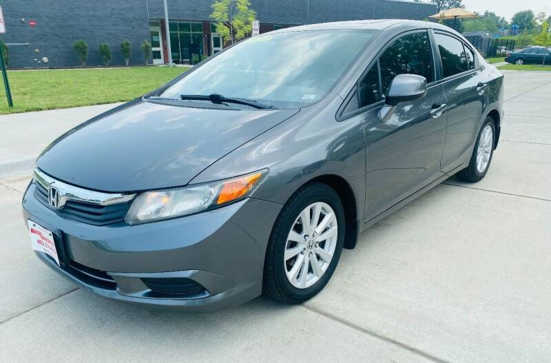 2012 Honda Civic for sale at BIG O MOTORS LLC in Omaha NE