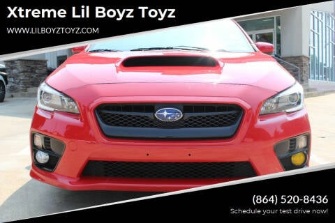 2016 Subaru WRX for sale at Xtreme Lil Boyz Toyz in Greenville SC