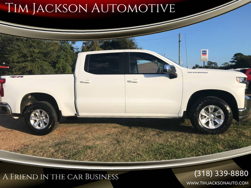 2019 Chevrolet Silverado 1500 for sale at Tim Jackson Automotive in Jonesville LA