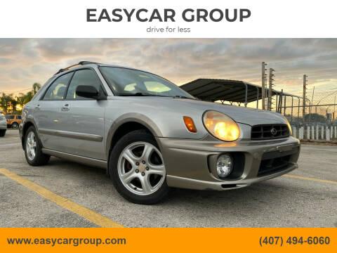 2002 Subaru Impreza for sale at EASYCAR GROUP in Orlando FL