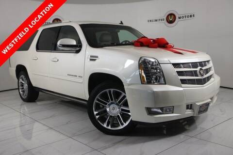 2013 Cadillac Escalade ESV for sale at INDY'S UNLIMITED MOTORS - UNLIMITED MOTORS in Westfield IN