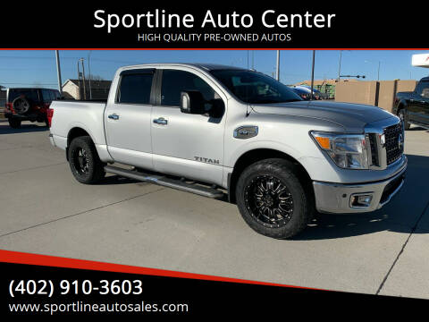2017 Nissan Titan for sale at Sportline Auto Center in Columbus NE
