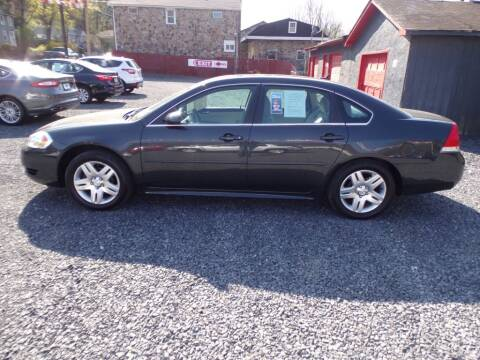 2015 Chevrolet Impala Limited for sale at RJ McGlynn Auto Exchange in West Nanticoke PA