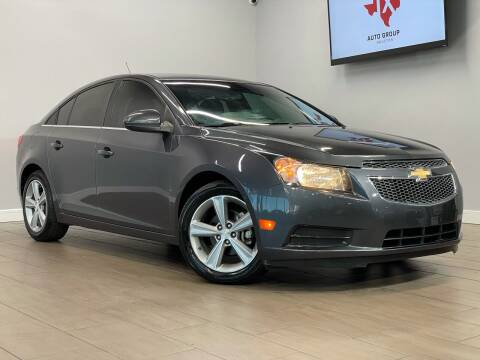 2013 Chevrolet Cruze for sale at TX Auto Group in Houston TX