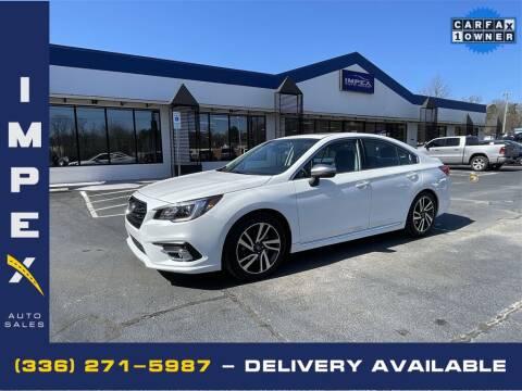 2019 Subaru Legacy for sale at Impex Auto Sales in Greensboro NC