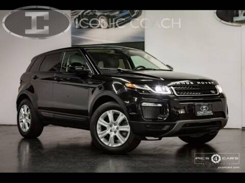 2016 Land Rover Range Rover Evoque for sale at Iconic Coach in San Diego CA