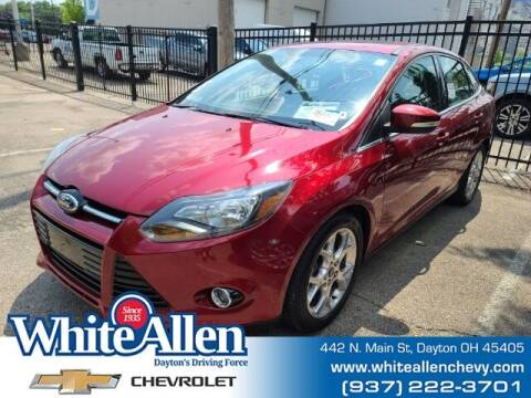 2013 Ford Focus for sale at WHITE-ALLEN CHEVROLET in Dayton OH