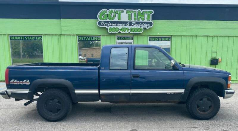1994 GMC Sierra 1500 for sale at GOT TINT AUTOMOTIVE SUPERSTORE in Fort Wayne IN