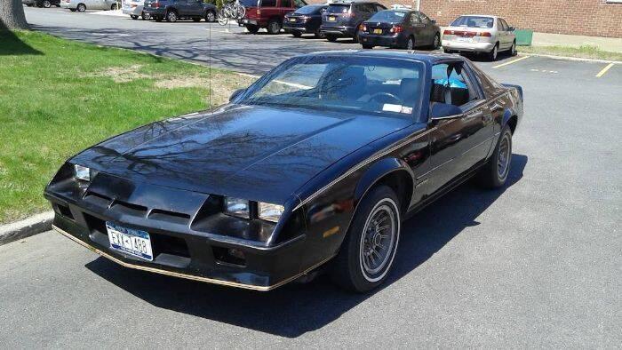 1984 Chevrolet Camaro for sale at Classic Car Deals in Cadillac MI