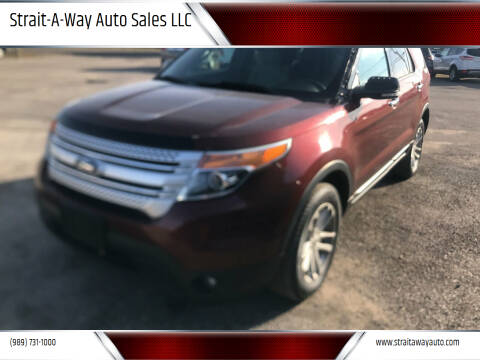 2015 Ford Explorer for sale at Strait-A-Way Auto Sales LLC in Gaylord MI