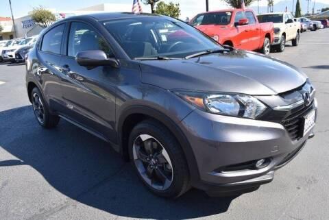 2018 Honda HR-V for sale at DIAMOND VALLEY HONDA in Hemet CA