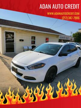 2013 Dodge Dart for sale at Adan Auto Credit in Effingham IL