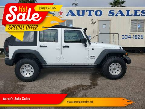 2014 Jeep Wrangler Unlimited for sale at Aaron's Auto Sales in Corpus Christi TX