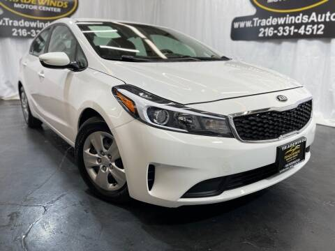 2018 Kia Forte for sale at TRADEWINDS MOTOR CENTER LLC in Cleveland OH