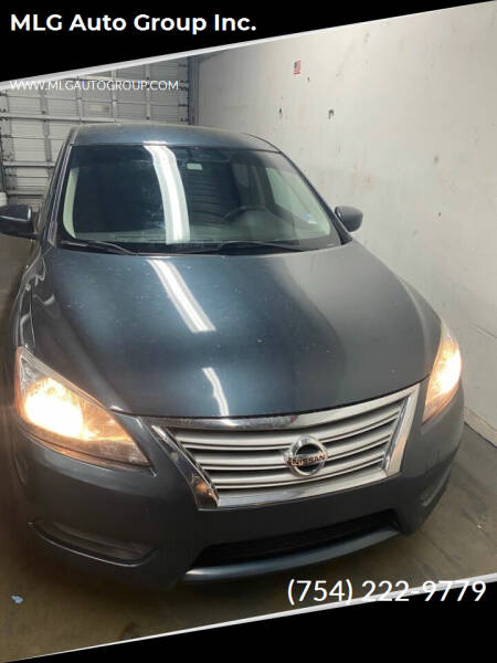 2013 Nissan Sentra for sale at MLG Auto Group Inc. in Pompano Beach FL