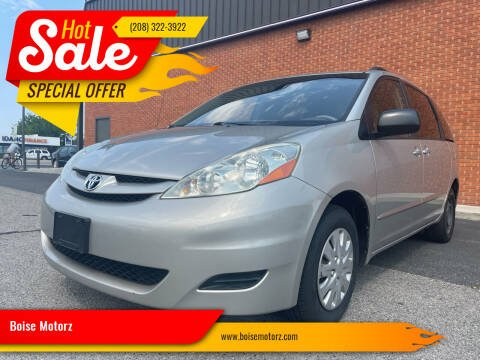 2006 Toyota Sienna for sale at Boise Motorz in Boise ID
