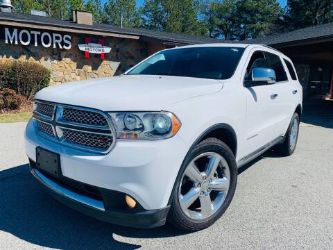 2013 Dodge Durango for sale at Classic Luxury Motors in Buford GA