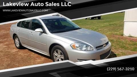 2014 Chevrolet Impala Limited for sale at Lakeview Auto Sales LLC in Sycamore GA
