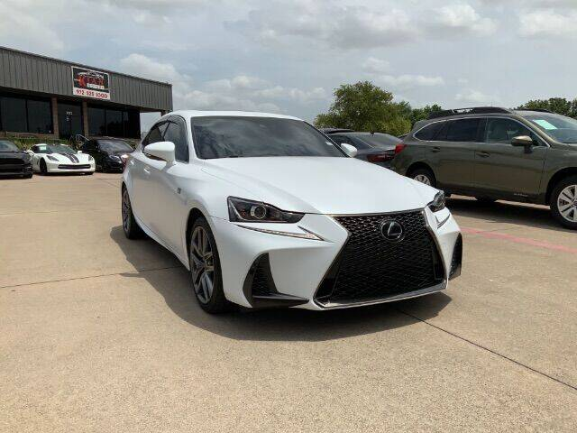 2017 Lexus IS 350 for sale at KIAN MOTORS INC in Plano TX