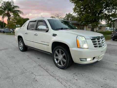 2008 Cadillac Escalade EXT for sale at Hard Rock Motors in Hollywood FL