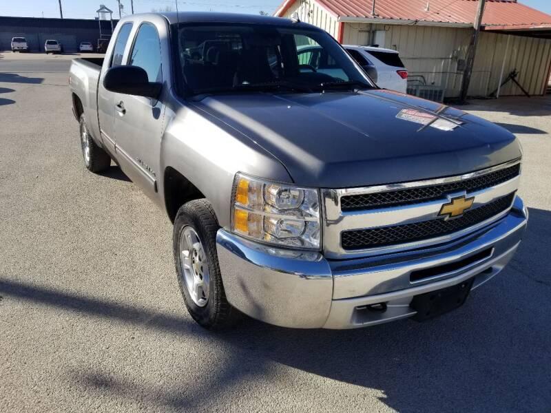 2012 Chevrolet Silverado 1500 for sale at Key City Motors in Abilene TX