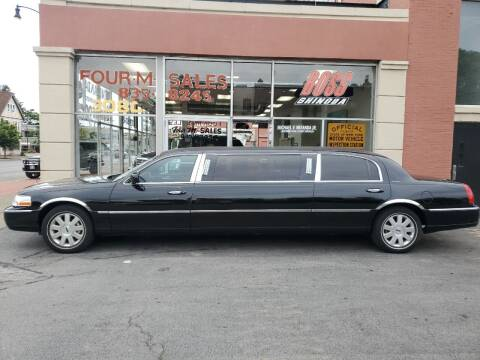 2004 Lincoln Town Car for sale at FOUR M SALES in Buffalo NY