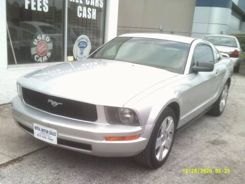 2008 Ford Mustang for sale at ROYAL MOTOR SALES LLC in Dover FL