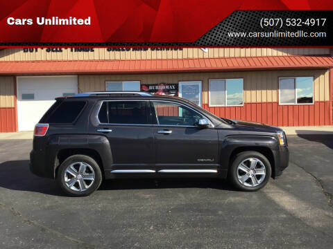 2013 GMC Terrain for sale at Cars Unlimited in Marshall MN