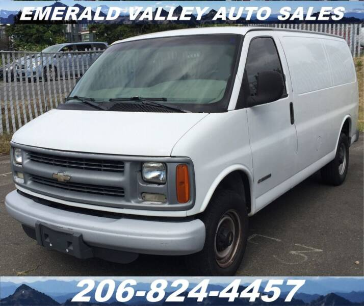 1999 Chevrolet Express Cargo for sale at Emerald Valley Auto Sales in Des Moines WA