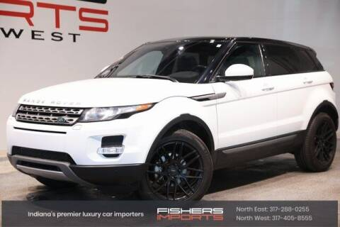 2014 Land Rover Range Rover Evoque for sale at Fishers Imports in Fishers IN