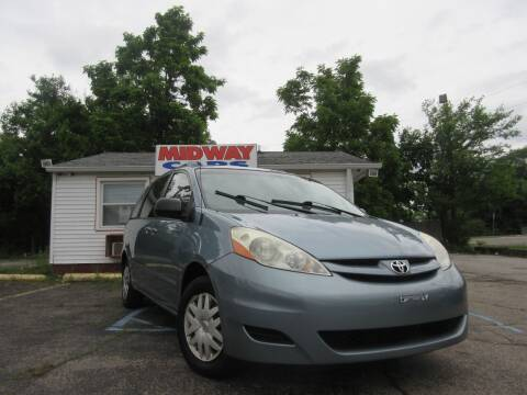 2008 Toyota Sienna for sale at Midway Cars LLC in Indianapolis IN