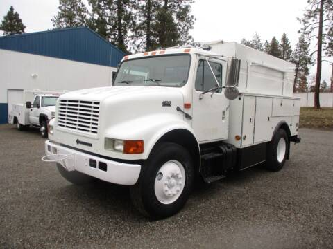 2000 international DT530 MECHANICS  UTILITY BED for sale at BJ'S COMMERCIAL TRUCKS in Spokane Valley WA