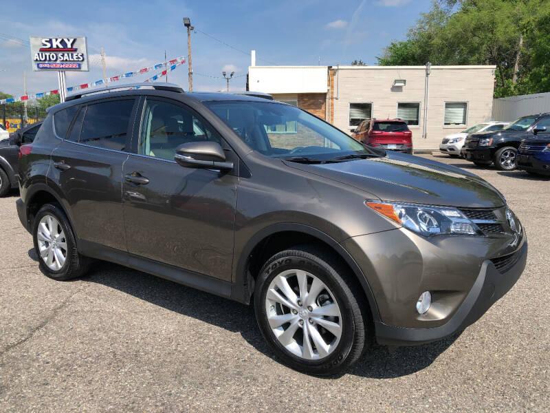 2015 Toyota RAV4 for sale at SKY AUTO SALES in Detroit MI