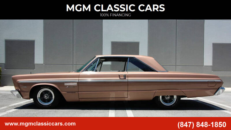 1965 Plymouth Sport Fury for sale in Addison, IL